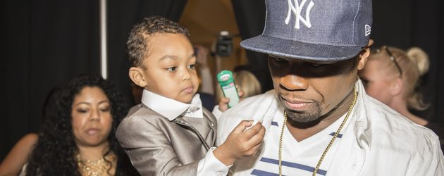 50 Cent und Sire Jackson