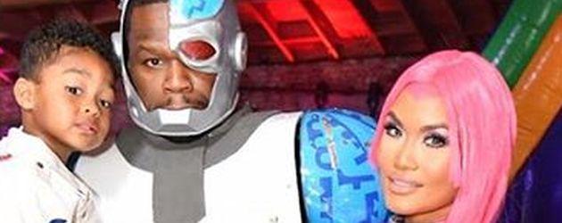 Sire Jackson mit Papa 50 Cent und Mama Daphne Joy