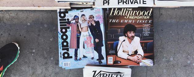 "Sofia Richie entdeckt sich auf dem ""Billboard""-Cover in Los Angeles"