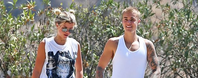 Sophia Richie und Justin Bieber in Los Angeles