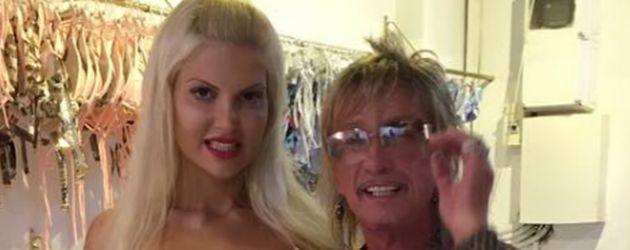 Sophia und Bert Wollersheim auf Ibiza