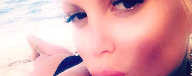 Sophia Wollersheim am Strand von Miami