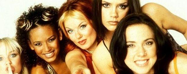 Die Spice Girls zu Beginn ihrer Karriere