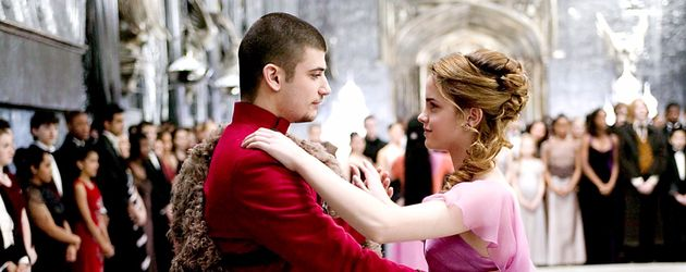 Stanislav Yanevski und Emma Watson in den Rollen als Viktor Krum und Hermine Granger