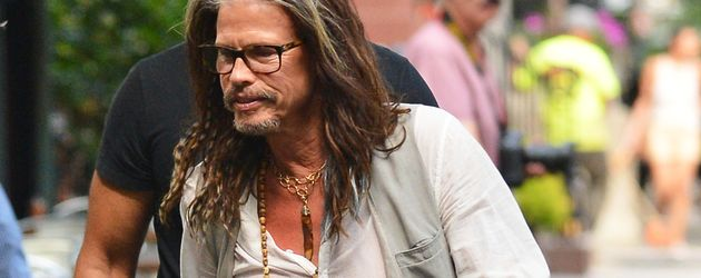 Steven Tyler in New York