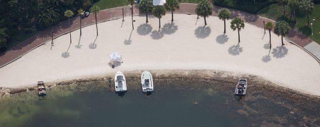 Strand des Grand Floridian Resort im Disney World Orlando