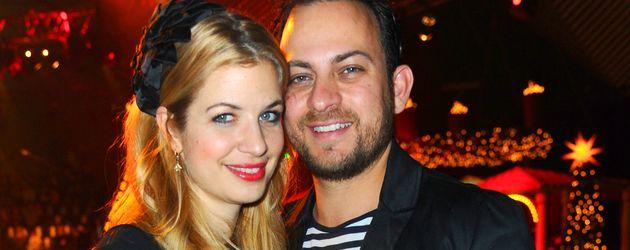 Susan Sideropoulos und ihr Mann Jakob in der Weihnachtszeit