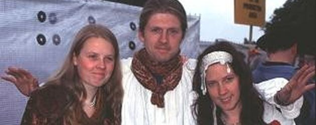 Patricia, John und Kathy Kelly