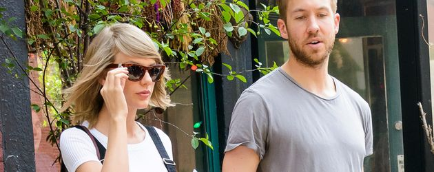 Taylor Swift und Calvin Harris 2015 in New York City