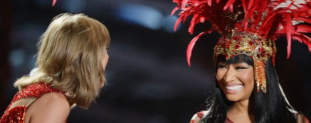 Taylor Swift und Nicki Minaj