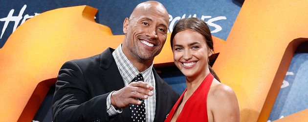 "Irina Shayk und Dwayne ""The Rock"" Johnson"