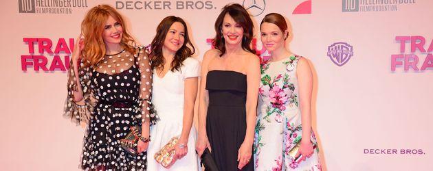 Palina Rojinski, Iris Berben, Karoline Herfurth und Hannah Herzsprung