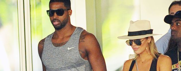 Tristan Thompson und Khloe Kardashian im September 2016 in Bal Harbor, Florida