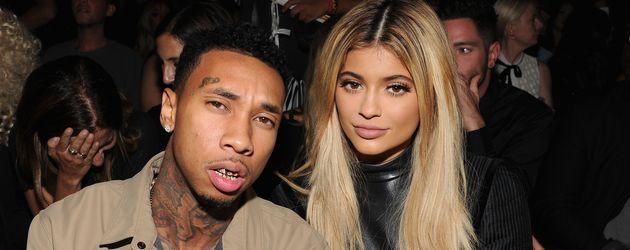 Tyga und Kylie Jenner bei der Fashion-Week in New York