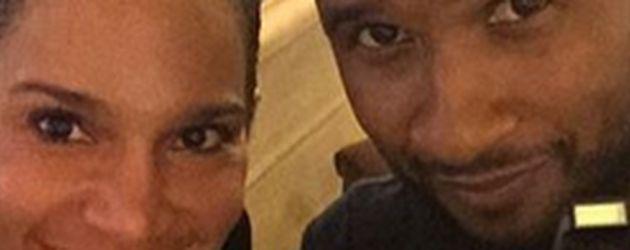 Usher und Grace Miguel