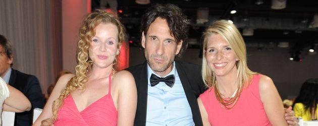 "Vaile Fuchs, Falk-Willy Wild, Lea Sophie Cramer bei der ""Victress Award Gala"" 2014"