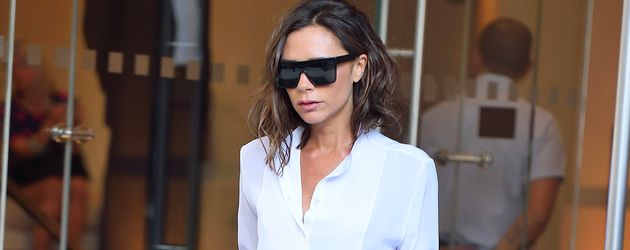 Victoria Beckham verlässt ihr Hotel in New York City