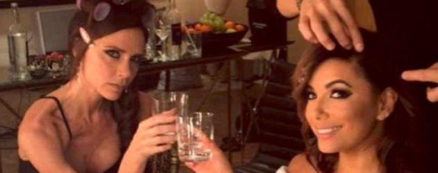 Eva Longoria und Victoria Beckham