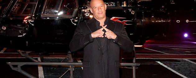 """Vin Diesel bei seiner Ankunft bei der """"xXx: Rückkehr des Xander Cage""""-Premiere in London"""