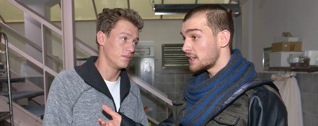 Eric Stehfest und Vincent Krüger