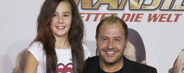 Alessia und Willi Herren im Jahr 2012