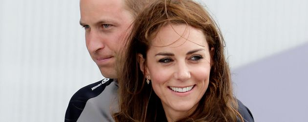 "Prinz William und Herzogin Kate bei der ""America's Cup World Series""-Regatta in Portsmouth"