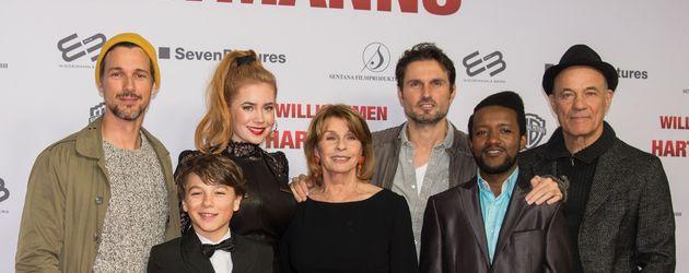 """""""Willkommen bei den Hartmanns""""-Cast bei der Kinopremiere in Berlin"""
