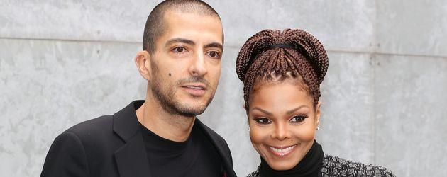 Wissam al Mana und Janet Jackson bei der Mailand Fashion Week
