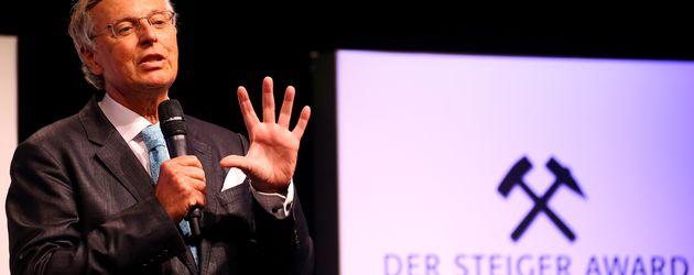 Wolfgang Bosbach beim Steiger Award