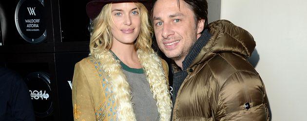 Regisseur Zach Braff und Ex, Model Taylor Bagley