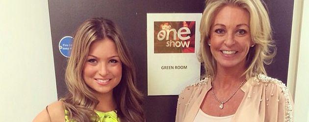 Zara Holland und ihre Mutter